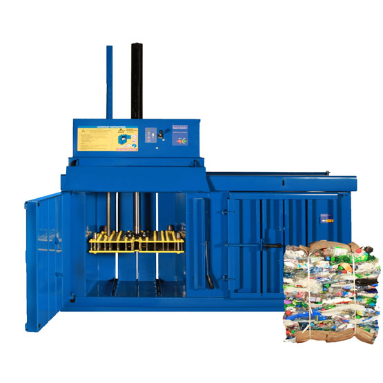 40 pet plastic bottle baler